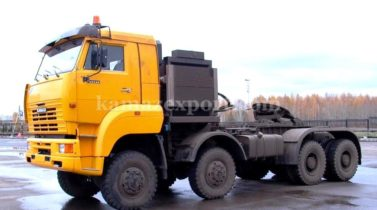 KAMAZ 65228, 8X8, 535 H. P., CUMMINS ENGINE, ALLISON AUTOMATIC TRANSMISSION,GCW-120000KG