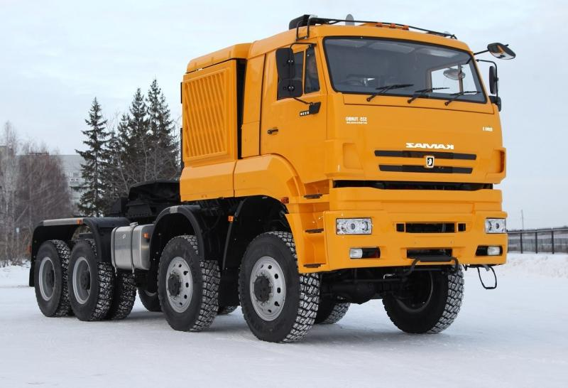 KAMAZ-65228 8X8 GCW 120000 KG, TRACTOR TRUCK (PRIME MOVER)