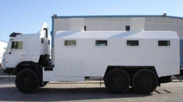 KAMAZ 43118 6X6 30 PASSENGER B6 CREW BUS