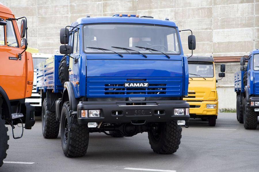 KAMAZ-4326 4X4 GVW 12300 KG | ...