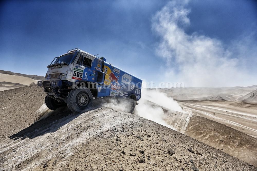 The KAMAZ Team has won the DAKAR RALLY 13 times to-date