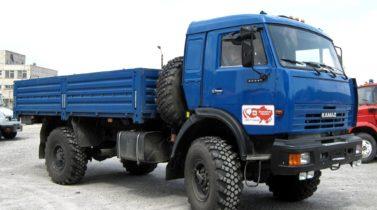 KAMAZ-4326 4X4 GVW 12300 KG