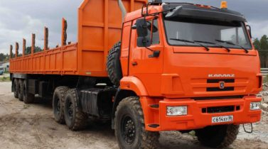 KAMAZ-44108 6X6 GCW 32350 KG, TRACTOR TRUCK (PRIME MOVER)