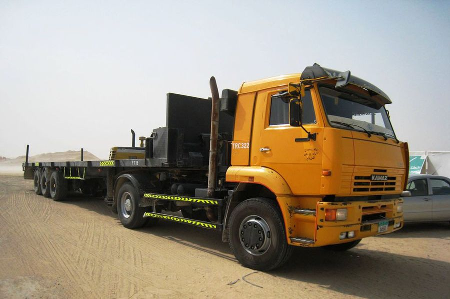 KAMAZ-5460 4X2 GCW 40000 KG, TRACTOR TRUCK (PRIME MOVER)