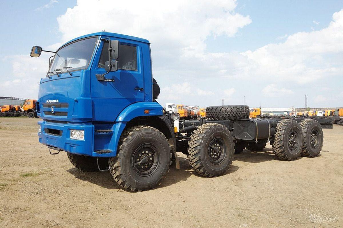 KAMAZ-63501 8X8 GVW 26650 KG