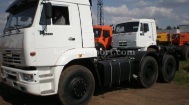 STOCK OFFER - 20% OFF - KAMAZ 6460, 6X4, 400 H.P., EURO2