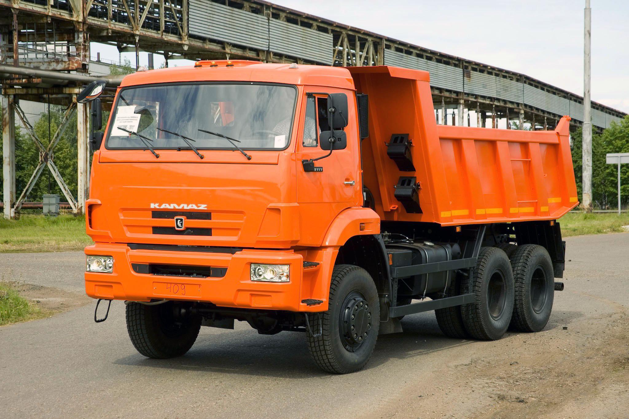 KAMAZ-65111 6X6 GWV 26000 KG
