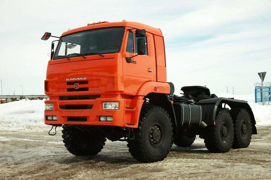 KAMAZ-65221 6X6 GCW 63000 KG, TRACTOR TRUCK (PRIME MOVER)