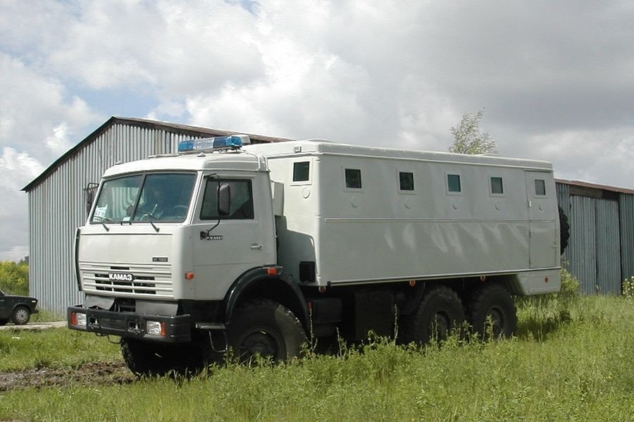 ARMORED POLICE BUS, 6X6, PROTECTION LEVEL BR6