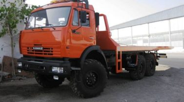 KAMAZ RECOVERY VEHICLE