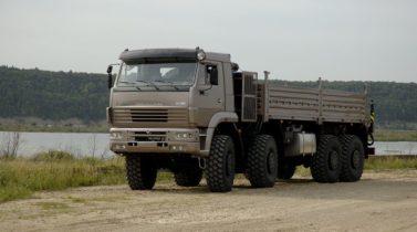 KAMAZ-6560 8X8 GVW 37100 KG