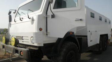 ARMORED BUS, KAMAZ-43118, 6x6, BULLET-PROOF PERSONNEL CARIER, 30 PASSENGER, EURO2