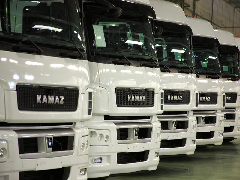 Daimler and KAMAZ have started the construction of a cabin factory