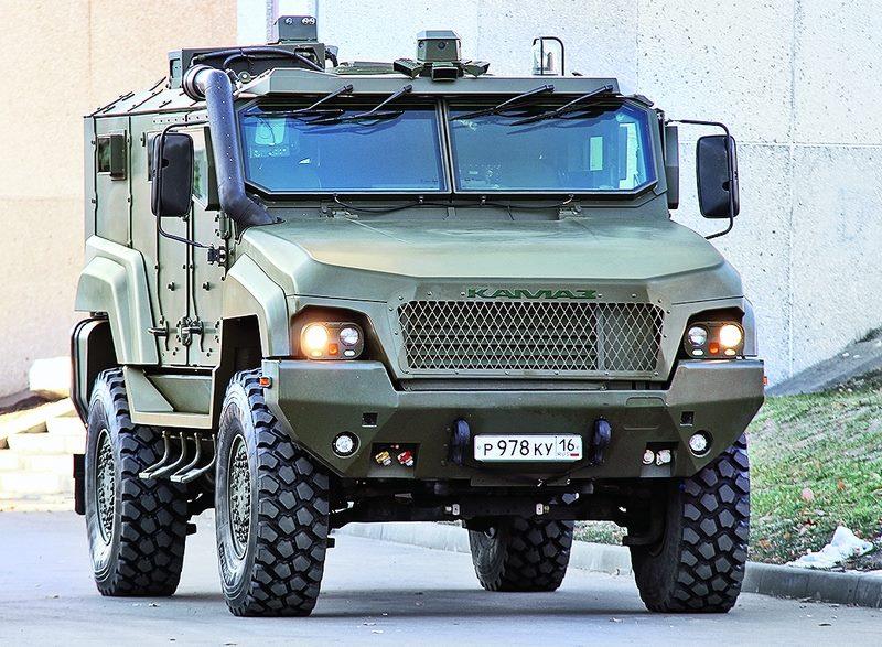 Tuff Trucks …the Kamaz Typhoon K