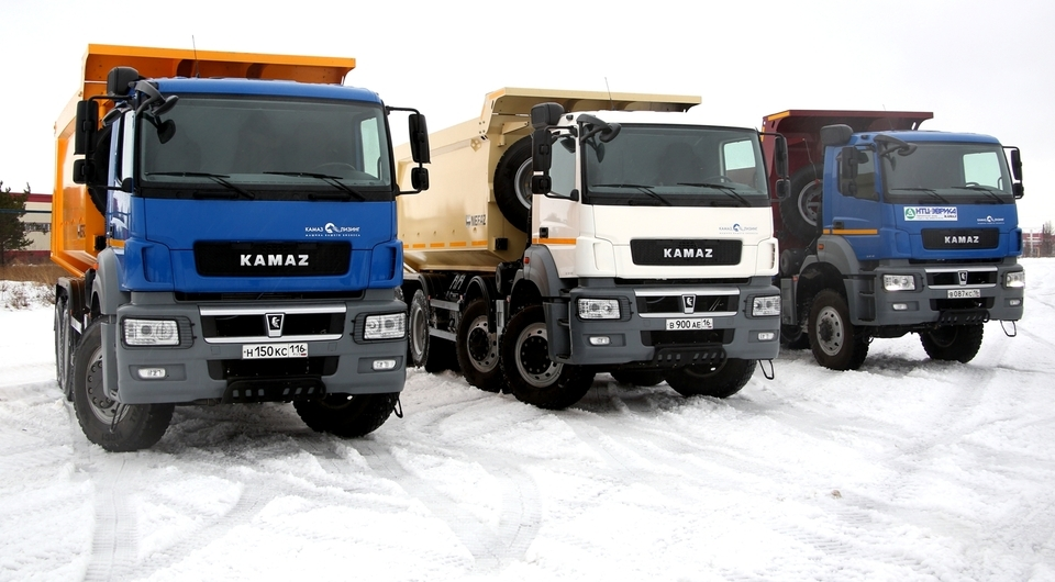 KAMAZ plans to sell 36,000 trucks in 2017