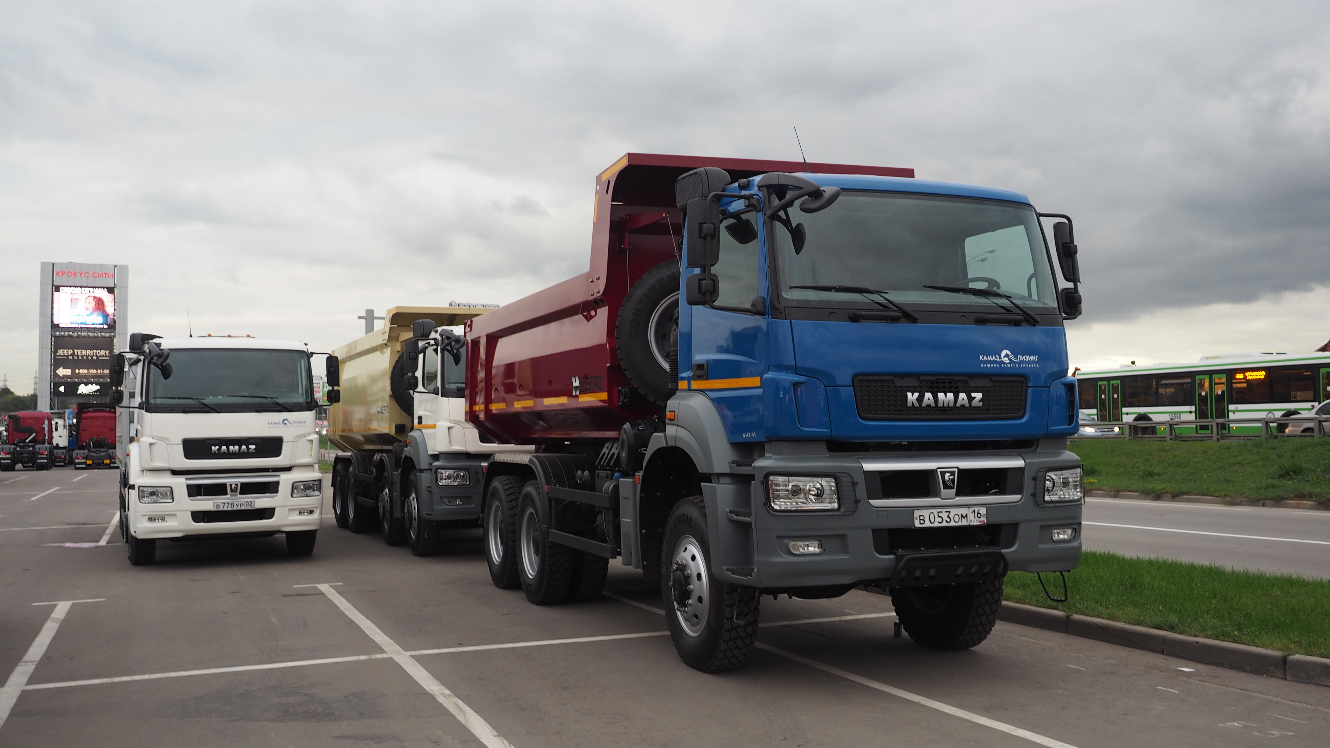 Kamaz wants to boost its presence in Southeast Asia.