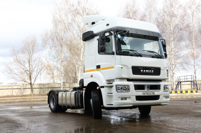 KAMAZ will increase the production of modernized trucks KAMAZ Neo