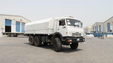 KAMAZ-43118 (6x6) 260 hp, MY 2017 - $50,000.00